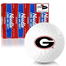 Taylor Made Noodle Long and Soft Georgia Bulldogs Golf Balls