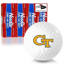 Taylor Made Noodle Long and Soft Georgia Tech Golf Balls