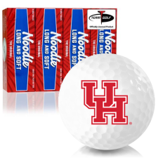 Taylor Made Noodle Long and Soft Houston Cougars Golf Balls