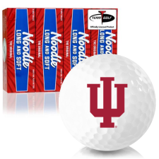 Taylor Made Noodle Long and Soft Indiana Hoosiers Golf Balls