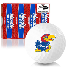 Taylor Made Noodle Long and Soft Kansas Jayhawks Golf Balls