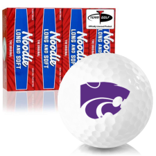 Taylor Made Noodle Long and Soft Kansas State Wildcats Golf Balls