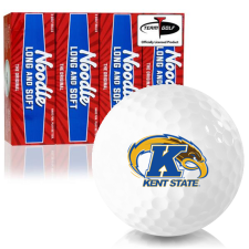 Taylor Made Noodle Long and Soft Kent State Golden Flashes Golf Balls