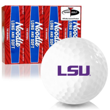 Taylor Made Noodle Long and Soft LSU Tigers Golf Balls