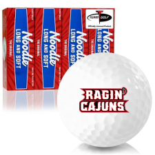 Taylor Made Noodle Long and Soft Louisiana Ragin' Cajuns Golf Balls