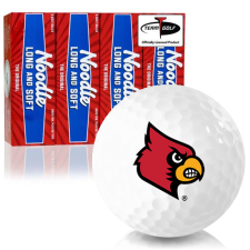 Taylor Made Noodle Long and Soft Louisville Cardinals Golf Balls