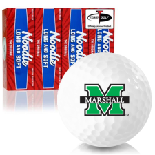 Taylor Made Noodle Long and Soft Marshall Thundering Herd Golf Balls