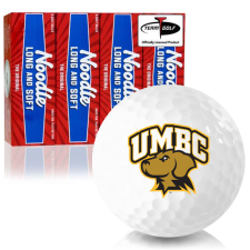 Taylor Made Noodle Long and Soft Maryland Baltimore County Retrievers Golf Balls