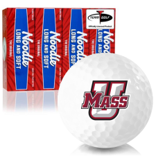 Taylor Made Noodle Long and Soft UMass Minutemen Golf Balls