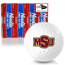 Taylor Made Noodle Long and Soft Midwestern State Mustangs Golf Balls