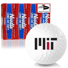 Taylor Made Noodle Long and Soft MIT - Massachusetts Institute of Technology Golf Balls