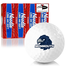 Taylor Made Noodle Long and Soft Monmouth Hawks Golf Balls