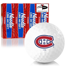 Taylor Made Noodle Long and Soft Montreal Canadiens Golf Balls