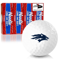 Taylor Made Noodle Long and Soft Nevada Wolfpack Golf Balls