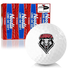 Taylor Made Noodle Long and Soft New Mexico Lobos Golf Balls