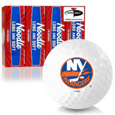 Taylor Made Noodle Long and Soft New York Islanders Golf Balls