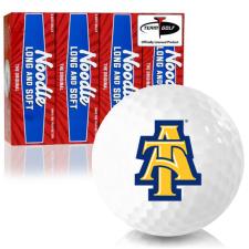 Taylor Made Noodle Long and Soft North Carolina A&T Aggies Golf Balls