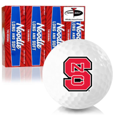 Taylor Made Noodle Long and Soft North Carolina State Wolfpack Golf Balls