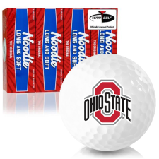 Taylor Made Noodle Long and Soft Ohio State Buckeyes Golf Balls