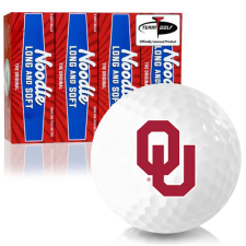 Taylor Made Noodle Long and Soft Oklahoma Sooners Golf Balls