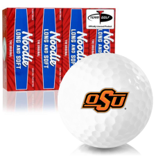 Taylor Made Noodle Long and Soft Oklahoma State Cowboys Golf Balls