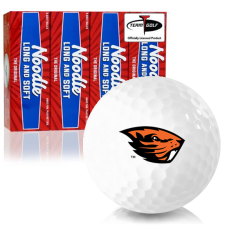 Taylor Made Noodle Long and Soft Oregon State Beavers Golf Balls