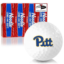 Taylor Made Noodle Long and Soft Pittsburgh Panthers Golf Balls