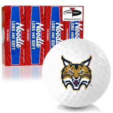 Taylor Made Noodle Long and Soft Quinnipiac Bobcats Golf Balls