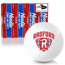 Taylor Made Noodle Long and Soft Radford Highlanders Golf Balls
