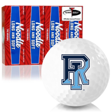 Taylor Made Noodle Long and Soft Rhode Island Rams Golf Balls