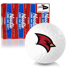 Taylor Made Noodle Long and Soft Saginaw Valley State Cardinals Golf Balls