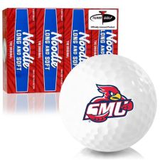 Taylor Made Noodle Long and Soft Saint Mary's of Minnesota Cardinals Golf Balls