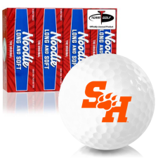 Taylor Made Noodle Long and Soft Sam Houston State Bearkats Golf Balls