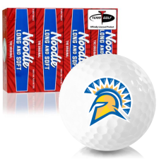 Taylor Made Noodle Long and Soft San Jose State Spartans Golf Balls