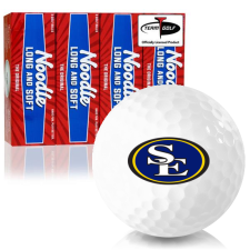 Taylor Made Noodle Long and Soft Southeastern Oklahoma State Savage Storm Golf Balls