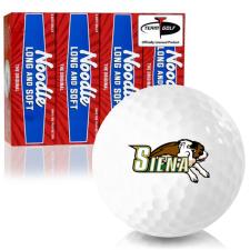 Taylor Made Noodle Long and Soft Siena Saints Golf Balls