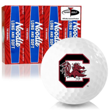Taylor Made Noodle Long and Soft South Carolina Fighting Gamecocks Golf Balls