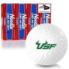 Taylor Made Noodle Long and Soft South Florida Bulls Golf Balls