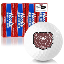 Taylor Made Noodle Long and Soft Southwest Missouri State Bears Golf Balls