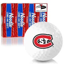 Taylor Made Noodle Long and Soft St. Cloud State Huskies Golf Balls