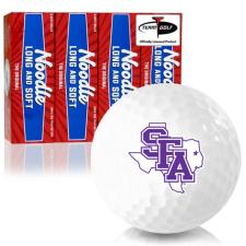 Taylor Made Noodle Long and Soft Stephen F. Austin Lumberjacks Golf Balls