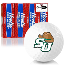 Taylor Made Noodle Long and Soft Stetson Hatters Golf Balls