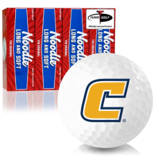 Taylor Made Noodle Long and Soft Tennessee Chattanooga Mocs Golf Balls