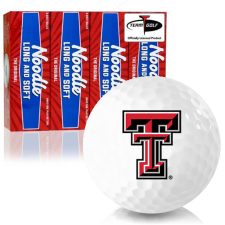 Taylor Made Noodle Long and Soft Texas Tech Red Raiders Golf Balls