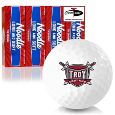 Taylor Made Noodle Long and Soft Troy Trojans Golf Balls