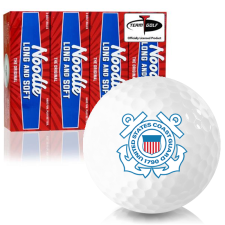 Taylor Made Noodle Long and Soft US Coast Guard Golf Balls