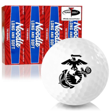 Taylor Made Noodle Long and Soft US Marine Corps Golf Balls