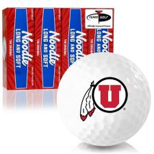 Taylor Made Noodle Long and Soft Utah Utes Golf Balls