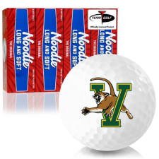 Taylor Made Noodle Long and Soft Vermont Catamounts Golf Balls