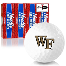 Taylor Made Noodle Long and Soft Wake Forest Demon Deacons Golf Balls
